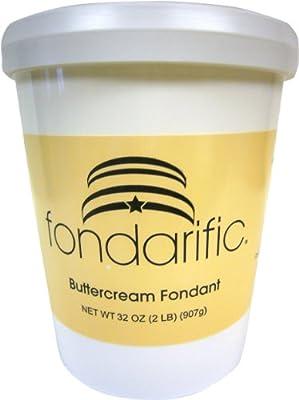 Fondarific Buttercream, 2-Pounds by Fondarific