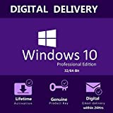 Windows 10 Pro 32/64-Bit - Retail Key - Full Languages - Allows Reinstallation - Key Works for Upgrade of Windows 7, 8.1 and 10 Home - Digital Email Delivery within 24Hrs by Amazon Messages