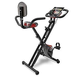 Sportstech Vélo d'appartement Fitness avec Console LCD et système de Tension | Marque de qualité Allemande | Vélo d…
