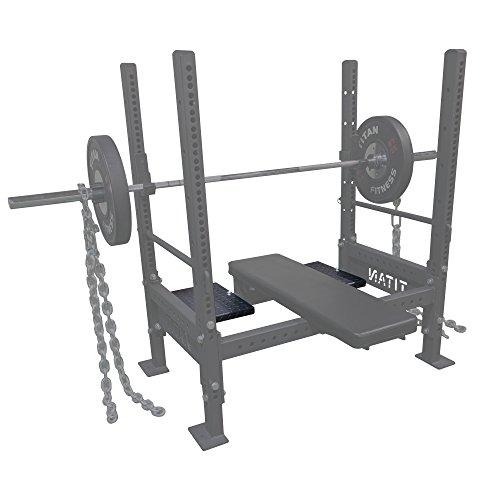 Titan Spotter Decks for Bench Press Rack by Titan Fitness