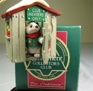 1988 Hallmark Keepsake of Membership Collectors Club
