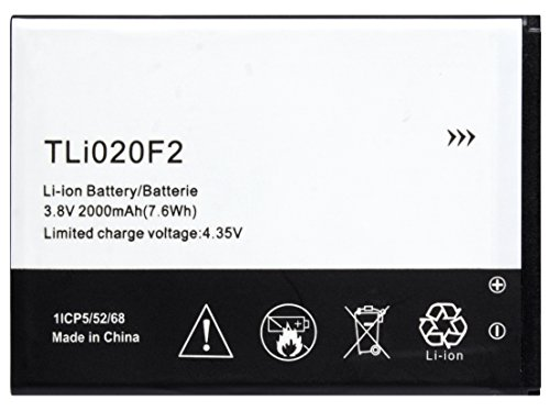 Bastex Replacement Battery for Alcatel One Touch Fierce 2 D7040 ()