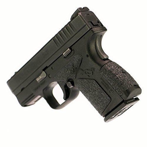 Foxx Grips -Gun Grips Springfield XD-S 9/40/45 (Rubber Grip Enhancement) Black