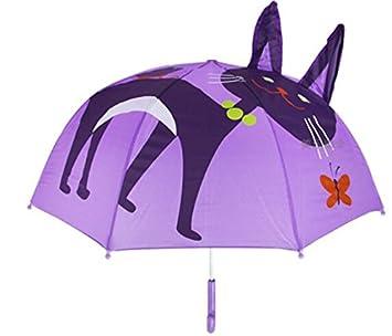 Itian paraguas infantil - Paraguas para Niños, Paraguas infantil burbuja para niño/niña,