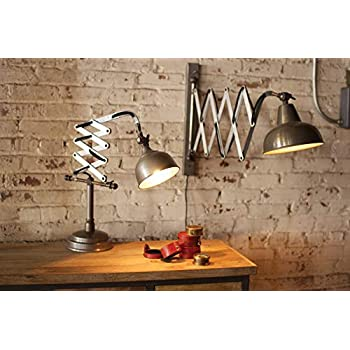 Accordion Wall Lamp Extendable Chrome Wall Sconces