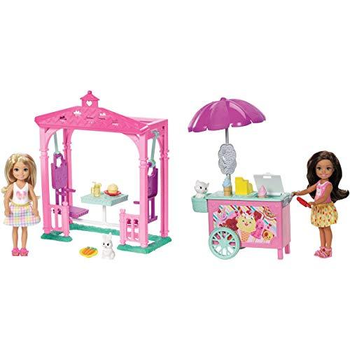 Barbie Club Chelsea Ice Cream Cart Doll & Playset ()