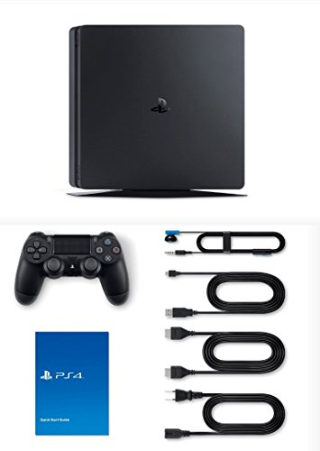 PS4 Slim 1Tb Nera Playstation 4 Pack + Fortnite: Battle Royale Preinstallato