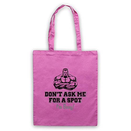 Workout Me Spot Ask I'm For Busy Don't Bodybuilding Rose Sac A Slogan d'emballage 8wqx5HnO