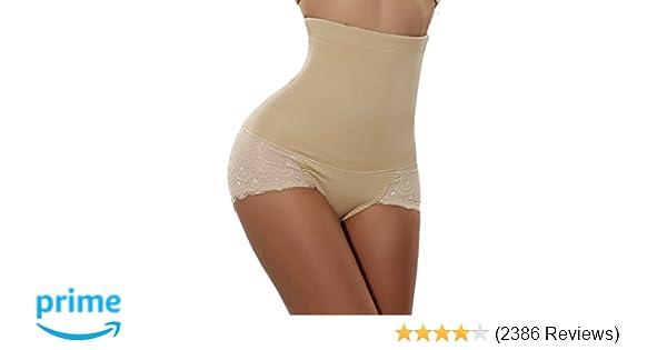 7eec536bbca65 Gotoly Women Body Shaper High Waist Butt Lifter Tummy Control Panty Slim  Waist Trainer at Amazon Women s Clothing store
