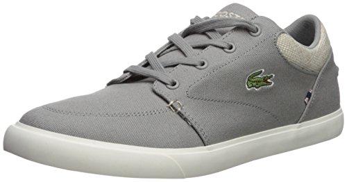 Lacoste Men's Bayliss Sneaker, Grey Canvas, 7 M ()