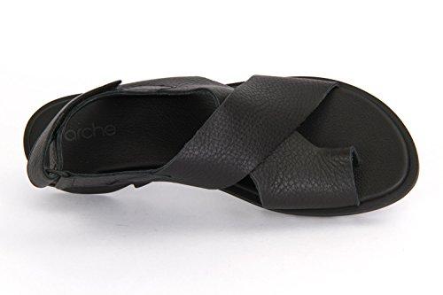 Boog Zwart Zwart Sandaal Ikam