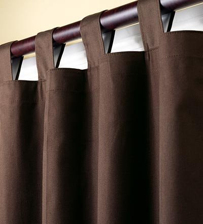 Curtains Ideas chocolate brown tab top curtains : Amazon.com: Thermalogic Energy Efficient Insulated Double Wide ...