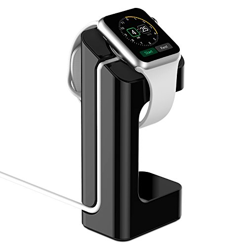 Apple Watch Stand - Updated Version - JETech Apple Watch Charging Stand Station Dock Platform for 3842mm All Models (Black)