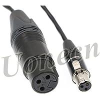 Audio XL2 TA3-F Audio Cable Adapter XLR 3 pin Female to mini XLR 3 pin Female to XLR for SD 442 Audio Devices 688/788