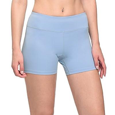 "Baleaf Women's 4"" Training Volleyball Shorts Back Pocket"