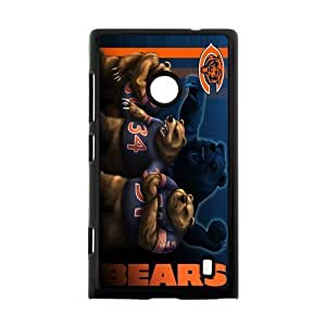 Fierce Panda Very Powerful Athlete Chicago Bears Nokia Lumia 520 Case Cover Shell (Laser Technology)