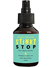 Air freshener Citrus lemon essential oil by STINKY STOP | Organic | Room freshener | Odour eliminator | Room and car odour fragrance spray | 100 ml | Alternative to artificial and chemical spray