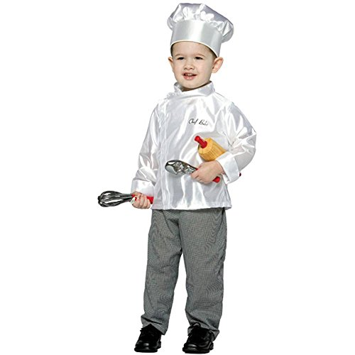 Toddler Chef Costume 2-4T by (Disfraces De Halloween Creativos)