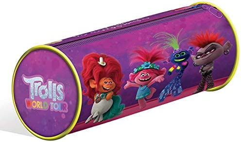 Estuche Trolls World Tour (Rhythm & Rainbows): Amazon.es: Oficina y papelería