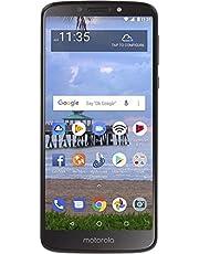 "Motorola Moto E5 (16GB, 2GB) 5.7"" Display, 4000 mAh All Day Battery, FM Radio - (GSM+AT&T+Tmobile + Verizon) Factory Unlocked 4G LTE Smartphone - XT1920DL (US Warranty) (Gray)"