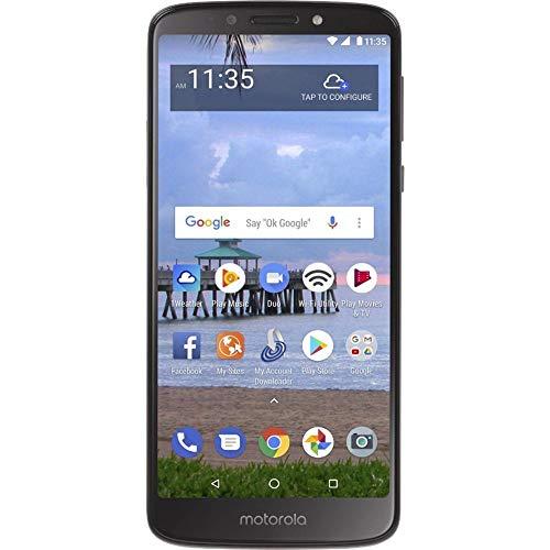 "Motorola Moto E5 (16GB, 2GB) 5.7"" Display, 4000 mAh All Day Battery, FM radio - (GSM + Verizon) Factory Unlocked 4G LTE Smartphone - XT1920DL (US Warranty) (Gray)"