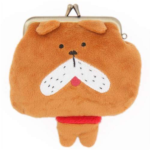 Gracioso monedero cartera de perro marrón: Amazon.es ...