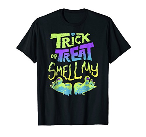 Trick or Treat Smell My (Feet) - Halloween T-shirt]()