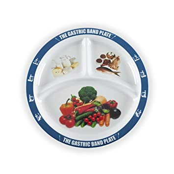 The Gastric Band Plate Diet Portion Control Weight Loss Plate (3)  sc 1 st  Amazon.com & Amazon.com | The Gastric Band Plate Diet Portion Control Weight Loss ...
