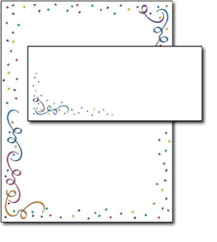 Party Elements Stationery & Envelopes - 40 Sets