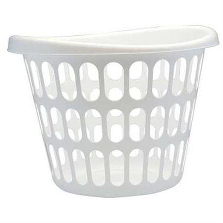 UNITED SOLUTIONS LN0276 Basket, White, Plastic (2 Bushel - 2 Pack)