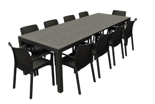 Plastique Rallonges En 17198478 Keter Symphony Rotin Table2 Aspect nPvm0wNy8O