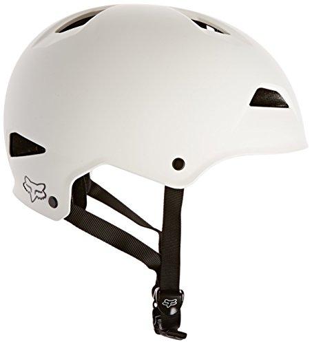 - Fox Flight Hardshell Trail Bike Helmet (Matte White, Large)