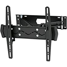 "Black Full-Motion Tilt/Swivel Wall Mount Bracket with Anti-Theft Feature for Vizio E550i-B2E 55"" inch LED HDTV TV/Television - Articulating/Tilting/Swiveling"