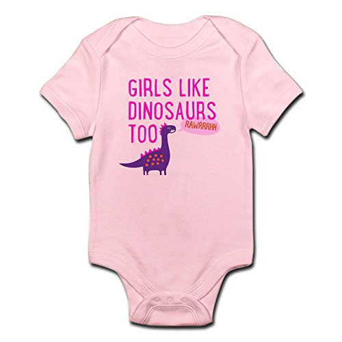 CafePress Dinosaurs RAWRRHH Infant Bodysuit