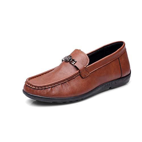 Marrone Cloth ZHRUI 40 Buckle antiscivolo Old Suola Dimensione Colore Beijing Shoes Casual EU Soft Marrone piatta Mens Espadrillas OO1qI
