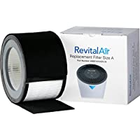 RevitalAir True HEPA Filter Plus Pre-filter with Activated Carbon, Size A, 2-Pack