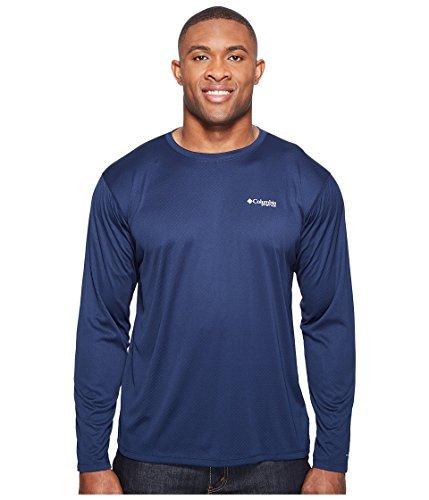 Columbia Men's PFG ZERO Rules¿ L/S Shirt Collegiate Navy Shirt