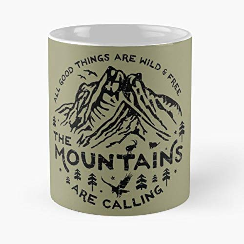 Winter Life Mountains Ski - Funny Coffee Mug, Gag Gift Poop Fun Mugs