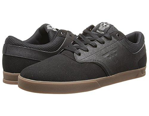 Fallen Men's FA-The Vibe Skateboarding Shoe, Black/Gum, 13 M US