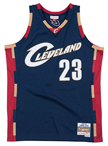 6398b8476 Mitchell & Ness Cleveland Cavaliers Lebron James 2008 Alternate Swingman  Jersey (X-Large)