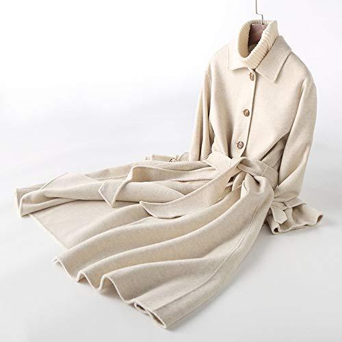 S Slim Tk Cachemire Nella Double Sopra In Abbigliamento D Lana Cravatta Giacca show Il Cappotto Di Femminile Face Codice Ginocchio Donna Lunga ngqPRtBnrw