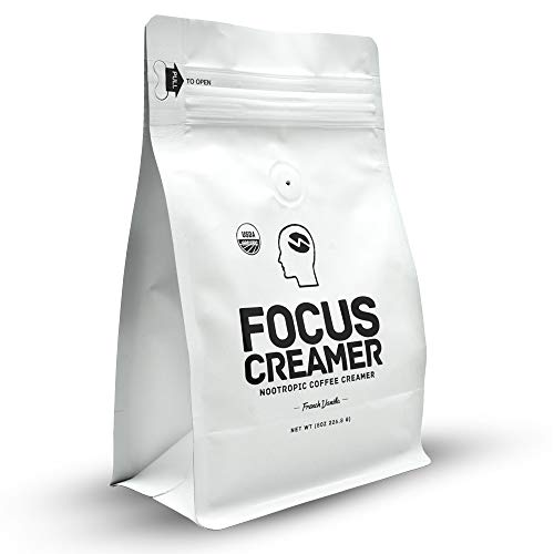 Focus Creamer - French Vanilla Keto Creamer, Organic, Non Dairy, Sugar Free, Nootropic Coffee Creamer by Mastermind Coffee Co.