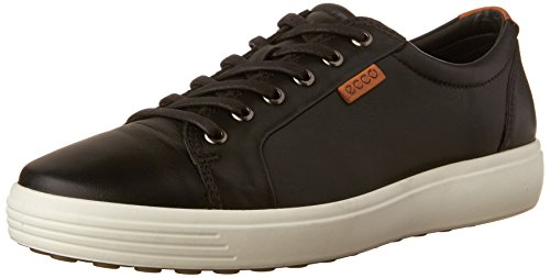 - ECCO Men's Soft 7 Tie Fashion Sneaker, Black, 45 EU / 11-11.5 US