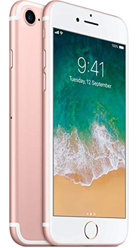Apple iPhone 7 128GB Rose Gold – For AT&T / T-Mobile (Renewed)