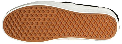 Scarpe Classiche Slip On Scamosciato / Pile Nero / Bianco Scarpe Uomo Nero / Bianco