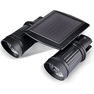 Motion Sensor Light Outdoor Solar Wireless Powered Flood Night Light