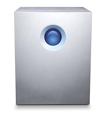 LaCie 5Big RAID 20TB Thunderbolt 2 7200RPM External Hard Drive + 1mo Adobe CC All Apps (LAC9000503U)