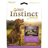 Nature's Variety Instinct Grain-Free Rabbit Meal, Apples, and Ginger Dog Biscuits, 11 oz., My Pet Supplies