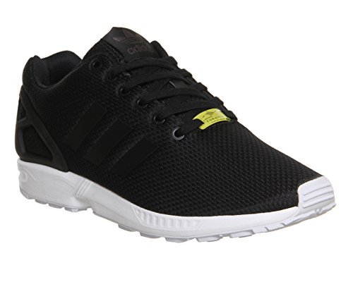 Adidas Mannen Zx Flux, Zwart / Zwart / Wit, 8,5 M Ons