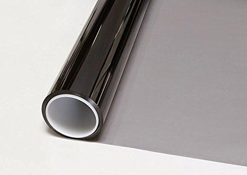 BDF HNC20 Window Film Premium Heat Control and Energy Saving, Chrome (Dark) - 36in X 50ft by Buydecorativefilm (Image #2)